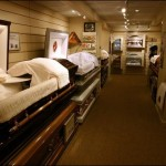 Wide variety of on site casket selection